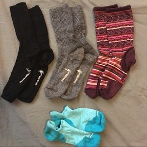 4 pair pack of Smartwool socks